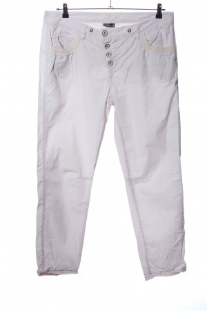 Street One Stoffhose pink-wollweiß Casual-Look