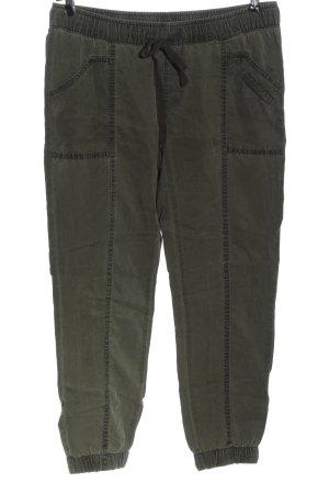 Street One Jersey Pants khaki casual look