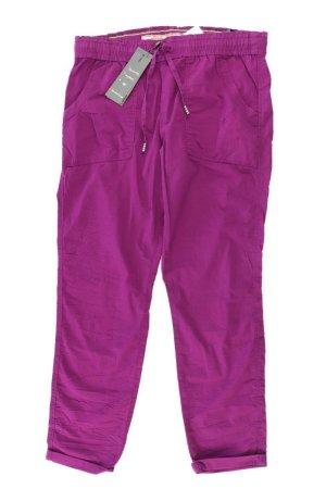 Street One Jersey Pants lilac-mauve-purple-dark violet cotton