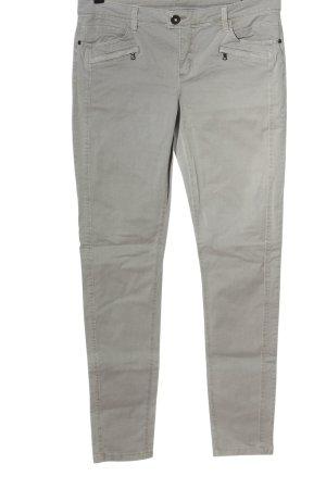 Street One Jersey Pants light grey casual look