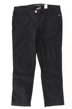 Street One Jeansy z prostymi nogawkami czarny Bawełna