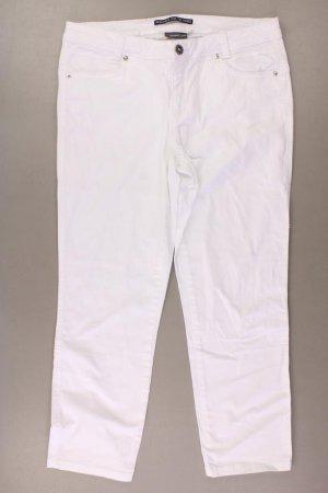Street One Jeansy z prostymi nogawkami w kolorze białej wełny