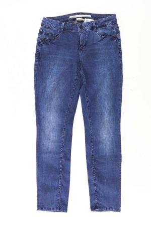 Street One Straight Leg Jeans blue-neon blue-dark blue-azure cotton