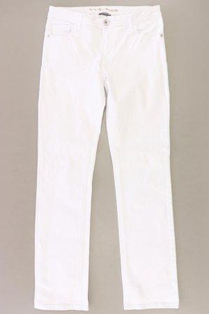 Street One Jeans a gamba dritta bianco sporco Cotone