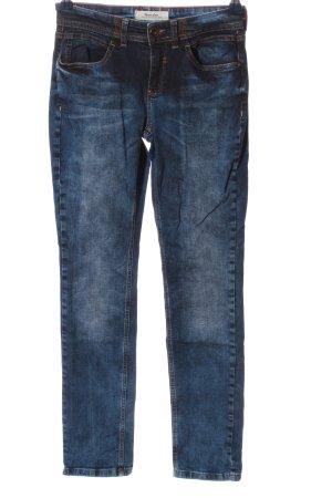Street One Jeansy z prostymi nogawkami niebieski W stylu casual