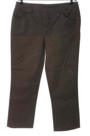 Street One Jeansy z prostymi nogawkami brązowy W stylu casual
