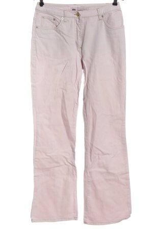 Street One Jeansy z prostymi nogawkami różowy W stylu casual