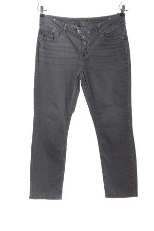 Street One Straight-Leg Jeans hellgrau Casual-Look