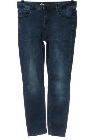 """Street One Jeansy z prostymi nogawkami """"W-kzrxxs"""" niebieski"""