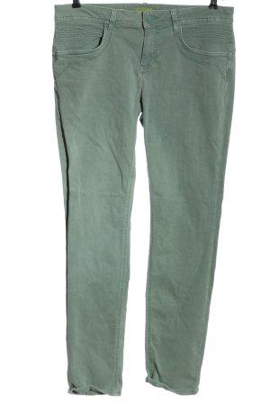 Street One Jeansy z prostymi nogawkami zielony W stylu casual