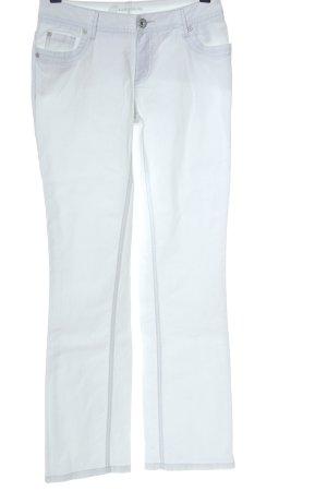 Street One Jeansy z prostymi nogawkami biały W stylu casual