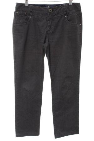 Street One Jeansy z prostymi nogawkami antracyt W stylu casual