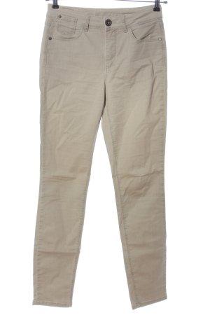 Street One Jeansy z prostymi nogawkami w kolorze białej wełny W stylu casual