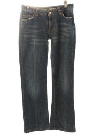 Street One Jeansy z prostymi nogawkami ciemnoniebieski W stylu casual