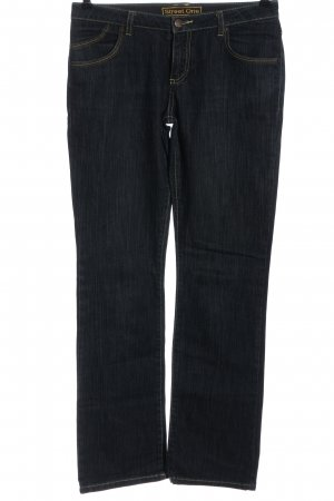 Street One Straight-Leg Jeans schwarz Casual-Look