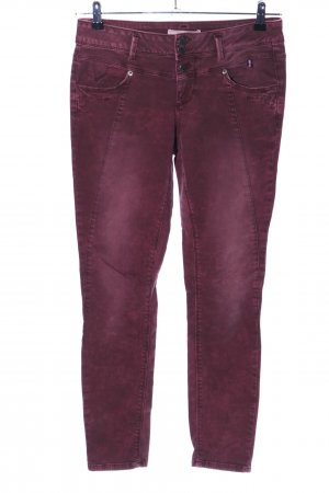 Street One Stretch Jeans rot Casual-Look