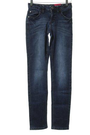 Street One Stretch Jeans dunkelblau schlichter Stil