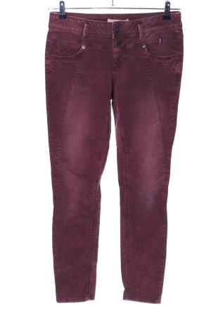 Street One Jeans elasticizzati rosso stile casual