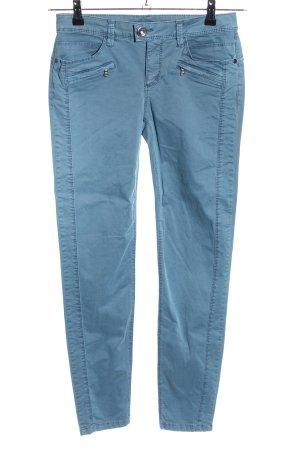 Street One Stretchhose blau Casual-Look