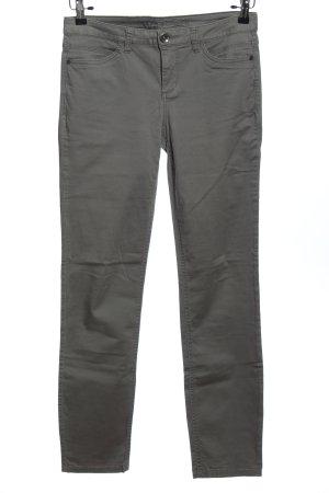 Street One Pantalón elástico gris claro look casual