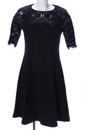 Street One Robe stretch noir motif graphique élégant