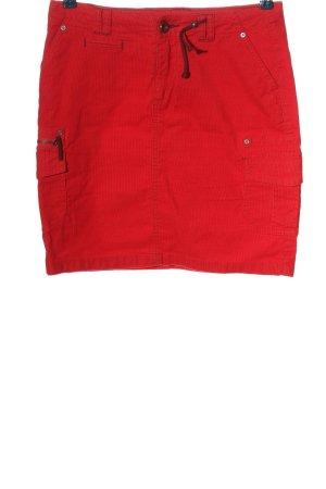 Street One Spódnica ze stretchu czerwony W stylu casual