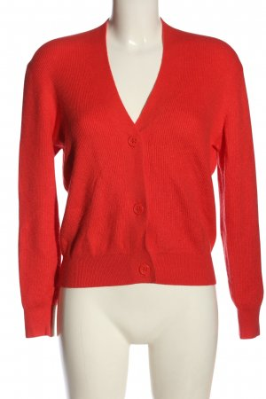 Street One Strick Cardigan rot Casual-Look
