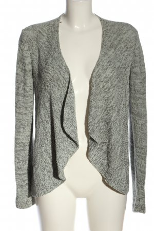 Street One Knitted Cardigan light grey flecked casual look