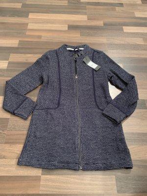 Street One Manteau en tricot bleu foncé-bleu