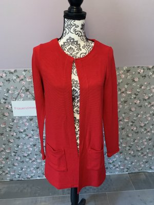 Street One Manteau en tricot rouge-rouge brique