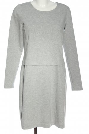 Street One Knitted Dress light grey flecked casual look