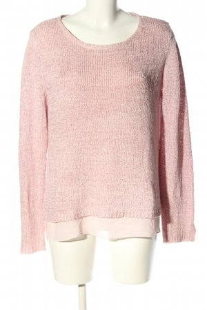 Street One Strickpullover pink Casual-Look
