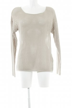 Street One Strickpullover creme Casual-Look