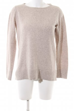 Street One Strickpullover creme meliert Business-Look