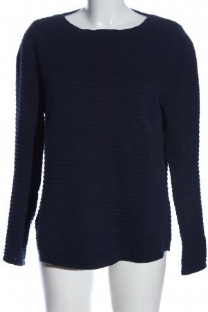 Street One Strickpullover blau Casual-Look