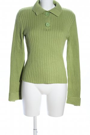 Street One Strickpullover grün Casual-Look