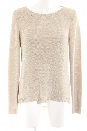Street One Strickpullover nude-creme Casual-Look