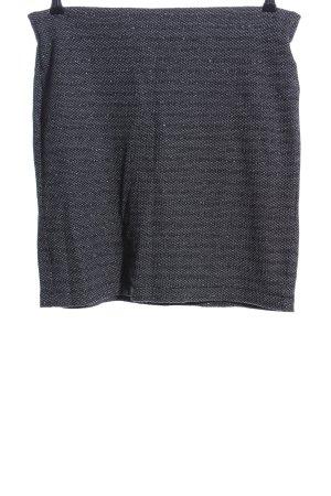 Street One Gonna lavorata a maglia grigio chiaro puntinato stile casual