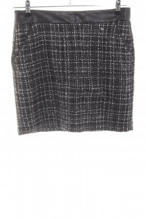 Street One Knitted Skirt black allover print business style