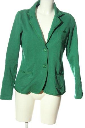 Street One Blazer de tela de sudadera verde look casual