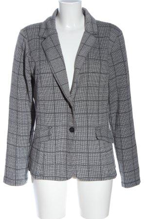 Street One Blazer de tela de sudadera gris claro estilo «business»
