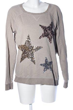 Street One Sweatshirt hellgrau Casual-Look