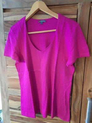 Street One Koszulka basic różowy Bawełna