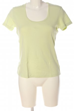 Street One T-Shirt green flecked casual look