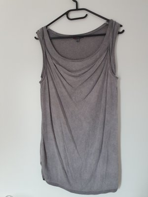 Street One Cowl-Neck Top grey