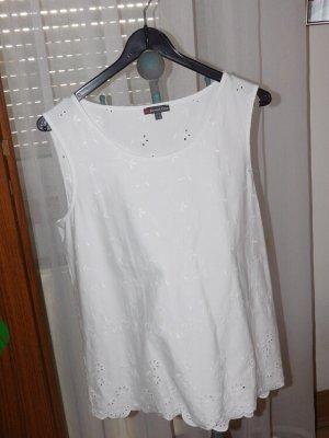 Street One Blouse Top white cotton