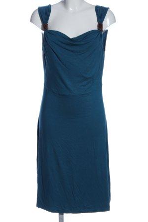 Street One Trägerkleid blau Elegant