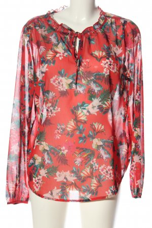 Street One Transparent Blouse allover print casual look