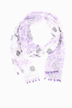 Street One Summer Scarf lilac-mauve-purple-dark violet polyester