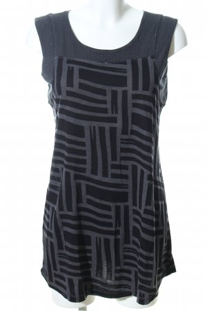 Street One Tunic black-light grey abstract pattern casual look